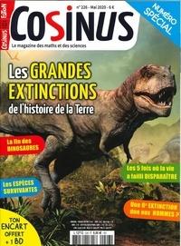 Olivier Fabre - Cosinus N° 226, mai 2020 : Les grandes extintions.