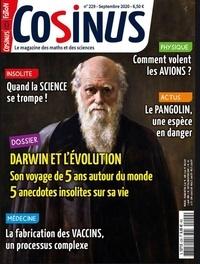 Olivier Fabre - Cosinus N° 229, septembre 20 : Darwin.