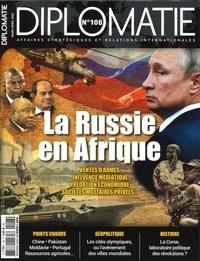 Alexis Bautzmann - Diplomatie N° 108, janvier-févr : .