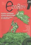 Florent Marcellesi - EcoRev' N° 34, Hiver 2010 : Urgence écologique, urgence démocratique - Vers une sortie civilisée du productivisme ?.