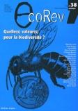 Sarah Feuillette - EcoRev' N° 38, Automne 2011 : Quelle(s) valeur(s) pour la biodiversité ?.