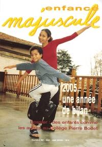 Simone Chalon - Enfance majuscule N° 82, Mai-Juin 2005 : 2005, une année de bilan.