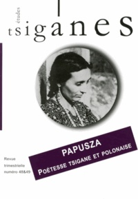 Marie-Claude Vachez - Etudes tsiganes N° 48-49 : Papusza, poétesse tsigane et polonaise.