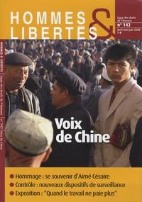 Elisabeth Allès et Susan Perry - Hommes & Libertés N° 142, Avril-mai-ju : Voix de Chine.
