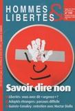 Jean-Pierre Dubois - Hommes & Libertés N° 148, Octobre-nove : Savoir dire non.