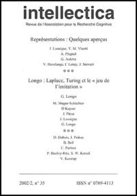 """Christian Brassac - Intellectica N° 35, 2002/2 : Représentations : quelques aperçus. Longo : Laplace, Turing et le """"jeu de l'imitation""""."""