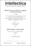 Jean-Luc Petit et  Collectif - Intellectica N° 36-37, 2003/1-2 : Repenser le corps, l'action et la cognition avec les neurosciences.