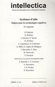 Dominique Boullier - Intellectica N° 44, 2006/2 : Systèmes d'aide - Enjeux pour les technologies cognitives.