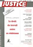 Pierre Jacquin et Thierry Baranger - Justice N° 187, Mai 2006 : Le droit du travail entre en résistance - Du CPE mort-né au CNE agonisant.