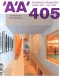 François Fontès - L'architecture d'aujourd'hui N° 405, mars 2015 : Architecture thérapeutique.