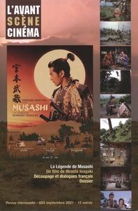 Pierre-Simon Gutman - L'Avant-Scène Cinéma N° 685, septembre 20 : La légende de Musashi - Un film de Hiroshi Inagaki.