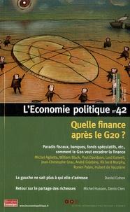 Christian Chavagneux - L'Economie politique N° 42, Avril 2009 : Quelle finance après le G 20 ?.
