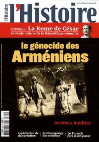 Füat Dundar et Jean-Michel David - L'Histoire N° 341, Avril 2009 : Le génocide des Arméniens / La Rome de César.