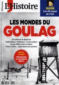 Héloïse Kolebka - L'Histoire N° 461-462, juillet  : Les mondes du Goulag.