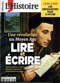 Héloïse Kolebka - L'Histoire N° 463, septembre 20 : Lire et écrire - Une révolution au Moyen âge.