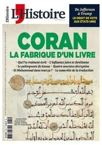 Héloïse Kolebka - L'Histoire N° 472, juin 2020 : Coran - La fabrique d'un livre.