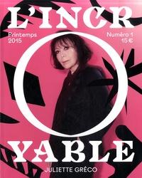 Clotilde Viannay et Philippe Jarrigeon - L'Incroyable N° 1, Printemps 2015 : Juliette Gréco.