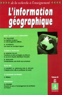 Sédès - L'information géographique N° 65, Juin 2001 : .