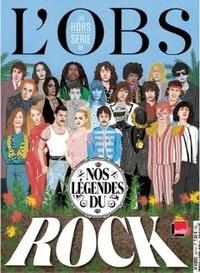 Grégoire de Vaissière - L'Obs Hors-série N° 106 : Nos légendes du rock.