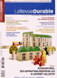 Jacques Mirenowicz - La Revue Durable N° 45, Avril-mai-jui : Ecoquartiers : des aspirations individuelles à l'intérêt collectif.