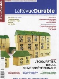 Susana Jourdan - LaRevueDurable N° 28, Février-Mars- : L'écoquartier, brique d'une société durable.