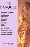 CERAP - Le Banquet N° 18 Juin 2003 : Figures de la pensée.