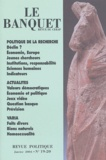 Nicolas Tenzer et Claudie Haigneré - Le Banquet N° 19-20, Janvier 20 : .