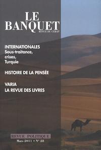 Nicolas Tenzer - Le Banquet N° 28, mars 2011 : .