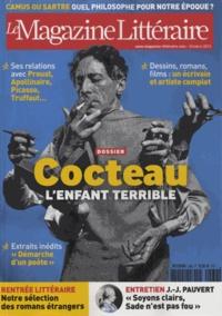 David Gullentops et Juliette Einhorn - Le Magazine Littéraire N° 536, octobre 2013 : Cocteau - L'enfant terrible.