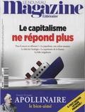 Nicolas Domenach - Le Nouveau Magazine Littéraire N° 10, octobre 2018 : Le capitalisme ne répond plus.