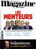 Nicolas Domenach - Le Nouveau Magazine Littéraire N° 11, novembre 2018 : Les menteurs.