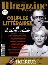 Hervé Aubron - Le Nouveau Magazine Littéraire N°19-20, juillet aoû : Couples littéraires et destins croisés.