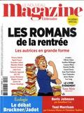 Hervé Aubron et Claude Perdriel - Le Nouveau Magazine Littéraire N° 21, octobre 2019 : Les romans de la rentrée - Les autrices en grande forme.