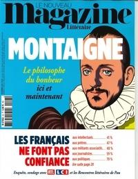 Hervé Aubron - Le Nouveau Magazine Littéraire N° 23, novembre 2019 : Montaigne - Le philosophe du bonheur ici et maintenant.