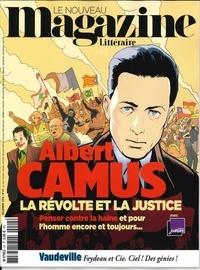 Nicolas Domenach - Le Nouveau Magazine Littéraire N° 24, décembre 2019 : Albert Camus - La révolte et la justice.