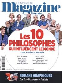 Hervé Aubron - Le Nouveau Magazine Littéraire N° 25, janvier 2020 : Les 10 philosophes qui influencent le monde.