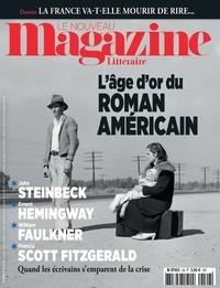 Nicolas Domenach - Le Nouveau Magazine Littéraire N°26, février 2020 : L'âge d'or du roman américain.