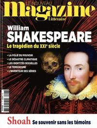 Nicolas Domenach - Le Nouveau Magazine Littéraire N° 27, mars 2020 : William Shakespeare - Le tragédien du XXIe siècle.