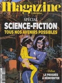 Hervé Aubron - Le Nouveau Magazine Littéraire N° 29, mai 2020 : Science-fiction - Tous nos avenirs possibles.