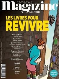 Hervé Aubron - Le Nouveau Magazine Littéraire N° 30, juin 2020 : Les livres pour revivre.