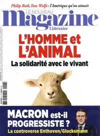 Alexis Brocas et Corine Pelluchon - Le Nouveau Magazine Littéraire N° 6, juin 2018 : L'homme et l'animal - La solidarité avec le vivant.