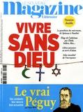 Raphaël Glucksmann - Le Nouveau Magazine Littéraire N° 7-8, juillet-août : Vivre sans dieu.