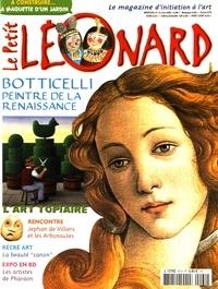 Jeanne Faton-Boyancé - Le Petit Léonard N°60, juin 2002 : Boticelli.