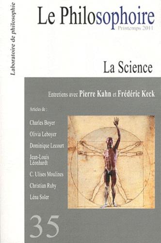 Vincent Citot - Le Philosophoire N° 35, printemps 201 : La science.