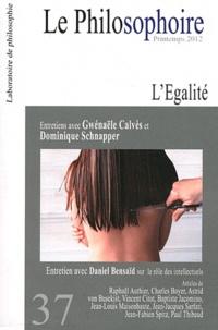 Vincent Citot - Le Philosophoire N° 37, printemps 201 : L'égalité.
