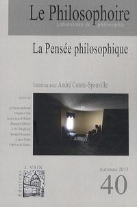 Vincent Citot - Le Philosophoire N° 40 Automne 2013 : La pensée philosophique.