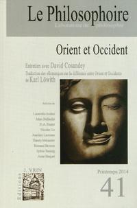 Vincent Citot - Le Philosophoire N° 41, printemps 201 : Orient et Occident.