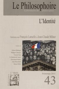 Vincent Citot - Le Philosophoire N° 43, printemps 201 : L'identité.
