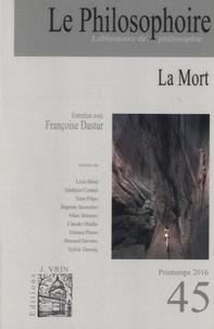 Vincent Citot - Le Philosophoire N° 45, printemps 201 : La mort.
