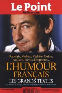 Catherine Golliau - Le Point hors-série - Références N° 76, janvier-févri : L'humour français - Les grands textes.
